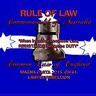 Magna Carta Rule of Law 1215 Australia by djhypnotixx