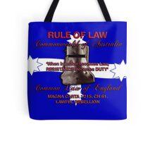 Magna Carta Rule of Law 1215 Australia Tote Bag