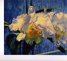 """Andean Mist Orchid"" by Carolyn Sterling"