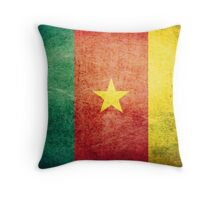 Cameroon - Vintage Throw Pillow
