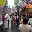 Hong Kong Street scene - Shopping by Camelot