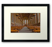 Suzzallo Library (University of Washington) (HDR Version 2) Framed Print