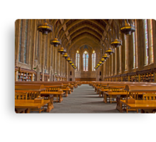 Suzzallo Library (University of Washington) (HDR Version 2) Canvas Print