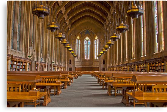 Suzzallo Library (University of Washington) (HDR Version 2) by Barb White