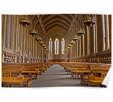 Suzzallo Library (University of Washington) (HDR Version 2) Poster