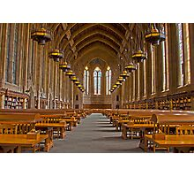 Suzzallo Library (University of Washington) (HDR Version 2) Photographic Print