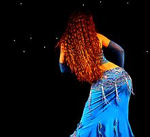 Bellydance in Blue, International Bellydance Congress, UK by Anne Kingston