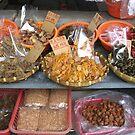 Dried fish in Tai O market, Hong Kong by Camelot