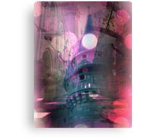 Faithless - Landscape w/buildings & sunset Canvas Print