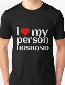 I LOVE MY PERSON HUSBAND T-Shirt
