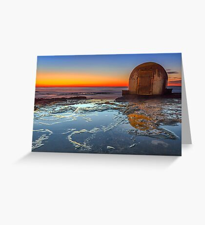 The Pump House - Newcastle NSW Australia Greeting Card