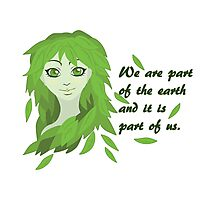 Mother Earth (Eyes Open) Photographic Print