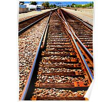 Converging tracks, Corona Poster