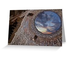 Ruins of the palace of the Emperor Diocletian Greeting Card