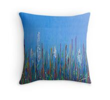 Under Water Jewels Throw Pillow
