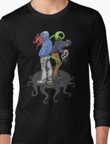 Rapt in Tentacles Long Sleeve T-Shirt