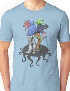 Rapt in Tentacles Unisex T-Shirt