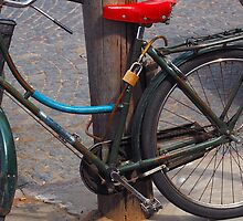 old bicicle by cconstante