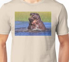 Hippo by the Throat Unisex T-Shirt