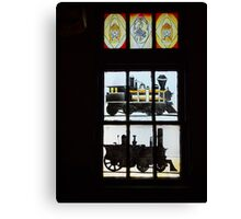 Stain Glass #1 Canvas Print