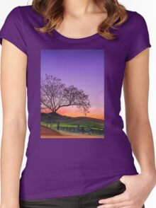Sunset by the Gate - Gloucester NSW Australia Women's Fitted Scoop T-Shirt