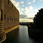 Moat - Kryal Castle (Ballarat) by adgray