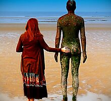 Gormley and me by Spadgie