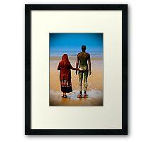 Gormley and me Framed Print