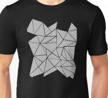 Abstract Mountain Inverted Unisex T-Shirt