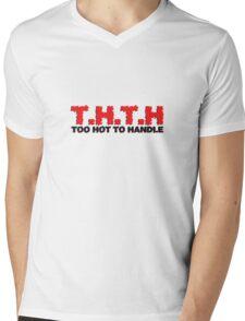 T.H.T.H Mens V-Neck T-Shirt