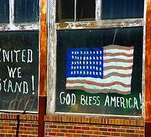 Gold Bless America by JBoyer
