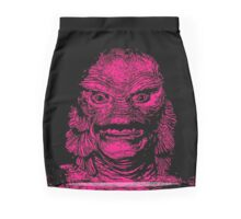 Deep sea Fishing Mini Skirt