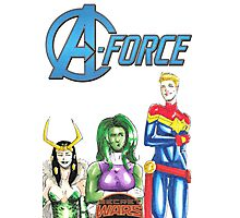 A-Force Photographic Print