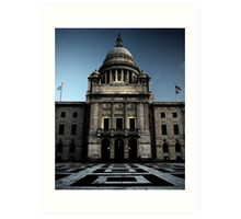 State House Art Print