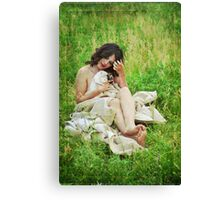 Holding Onto Love Canvas Print