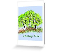 Family Tree Greeting Card