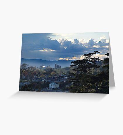 McNeill Bay (2) Greeting Card