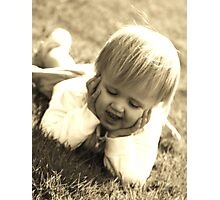 telling a story Photographic Print