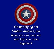I Could Be Captain America - WT by CoppersMama