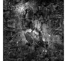 When The Stars Are Right - M78 in Orion (black & white version) Photographic Print