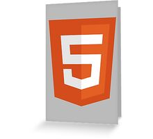 HTML 5 – Silicon Valley Greeting Card