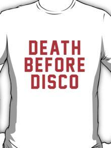 Stripes – Death Before Disco T-Shirt