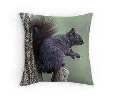 Forest Worker  Throw Pillow