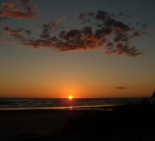 Sunset Manzanita Oregon by Hannah Fenton-Williams