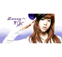 snsd sunny Photographic Print