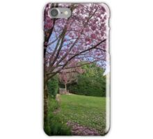 Cherry blossom time iPhone Case/Skin