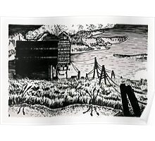 Factory in the Marsh Poster