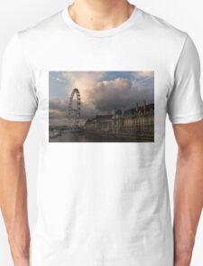 Sky Drama Around the London Eye T-Shirt