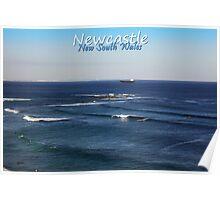 Nobbys Reef Poster