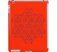 Pattern Cube-octahedron iPad Case/Skin